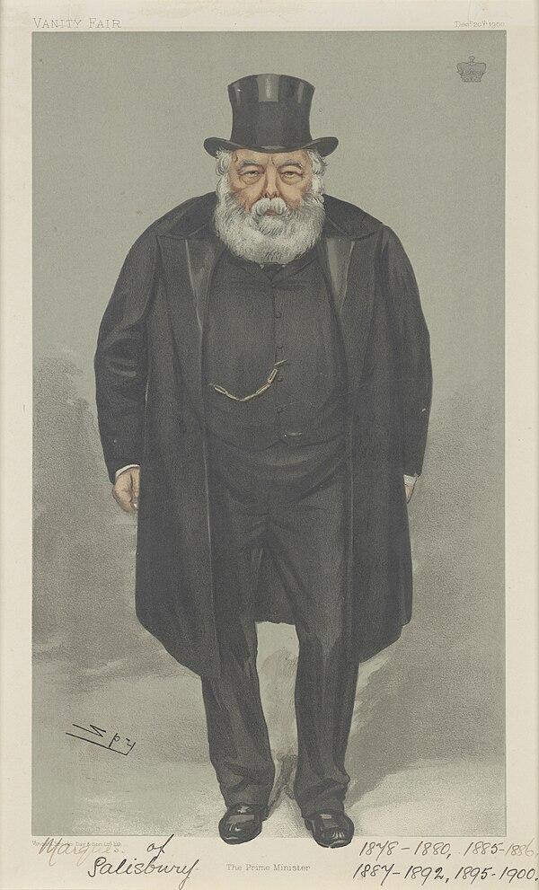 Robert Arthur Talbot Gascoyne-Cecil, Vanity Fair, 1900-12-20