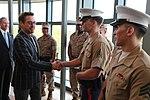 Robert Downey Junior visits the Embassy (26473813581).jpg