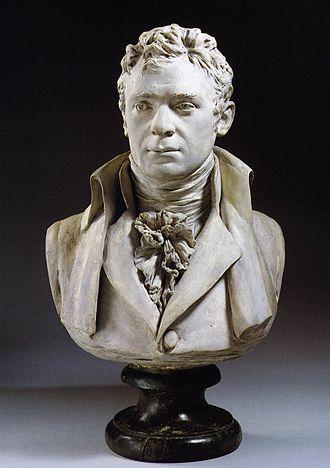 Robert Fulton - Bust by Jean-Antoine Houdon, 1803.