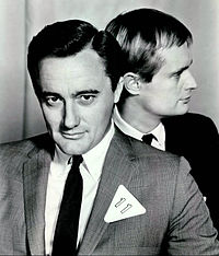 Robert Vaughn David McCallum Man from UNCLE 1966.JPG