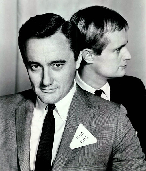 Robert Vaughn David McCallum Man from UNCLE 1966