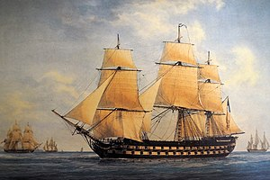 French ship Jupiter (1831) - Image: Robuste Antoine Roux