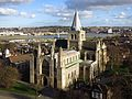 Rochester Cathedral, from the Castle.jpg