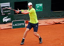 Andy Murray al Roland Garros
