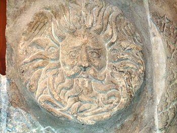 Gorgon Head Roman Baths, Bath
