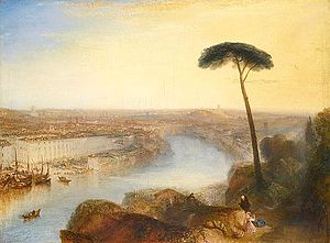 Rome, From Mount Aventine - Image: Rome, From Mount Aventine