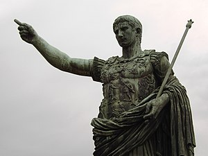 Jus trium liberorum - Roman Statue of Augustus