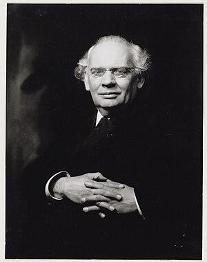 Julius Röntgen - Röntgen in 1918
