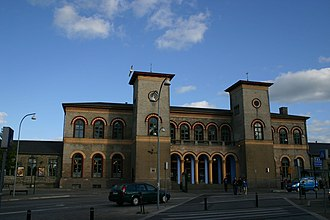 Lille Syd - Image: Roskilde railway station
