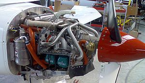 Rotax 912 - Rotax 912ULS with tuned exhaust in a Dyn'Aéro MCR01 with 3-blade hydraulic CSU propeller.