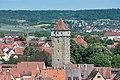Rothenburg ob der Tauber, Röderturm, vom Rathausturm 20170526 002.jpg