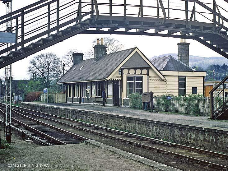 Rothes Railway Station