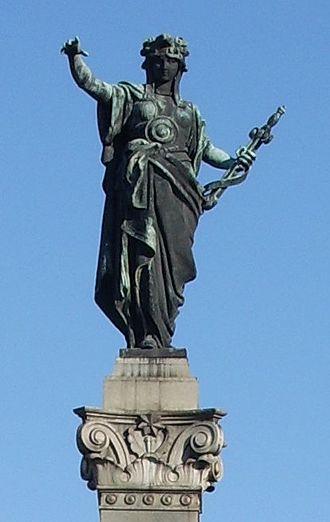 Arnoldo Zocchi - Image: Rousse Monument of Liberty Statue