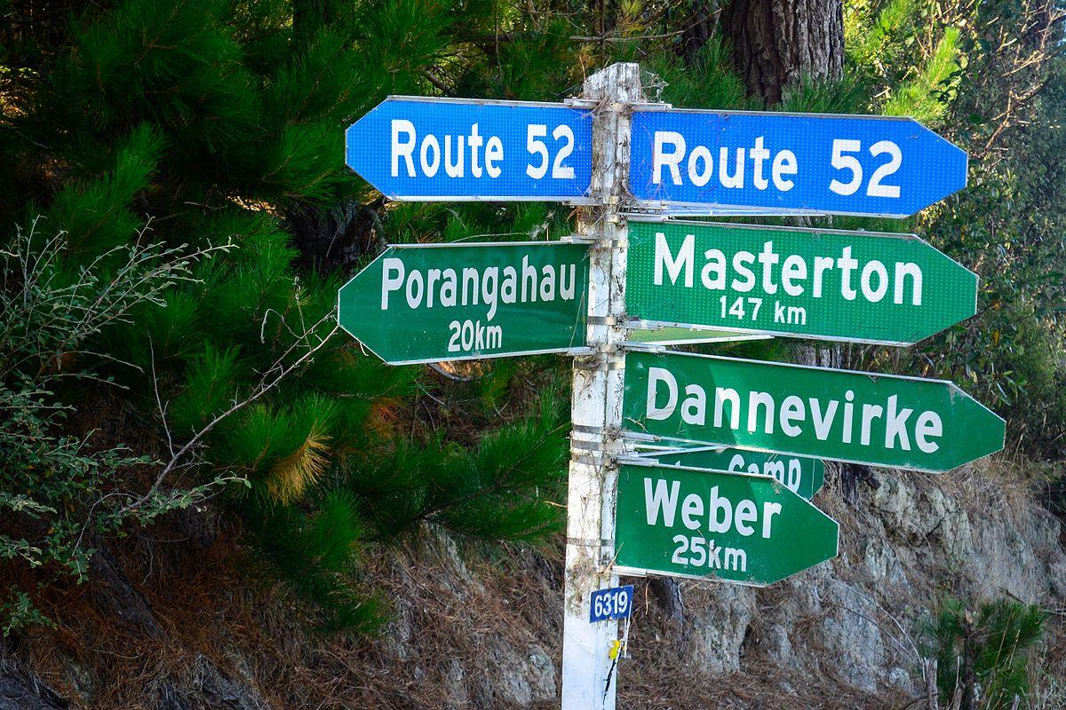New Zealand State Highway 52 - Wikipedia