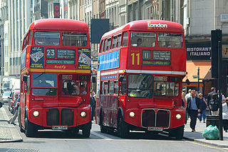 Privatisation of London bus services