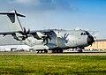 Royal Air Force A400M Atlas aircraft at RAF Brize Norton on 18th Nov 2014 (45158359).jpg
