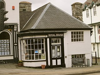 Royal House, Machynlleth historic building in Machynlleth, Wales