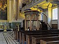Royal Naval College Chapel pulpit, Greenwich Hospital 02.jpg