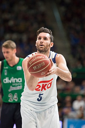 ACB Most Spectacular Player - Image: Rudy Fernández 2016