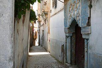 Casbah of Algiers - Image: Ruellecasbah