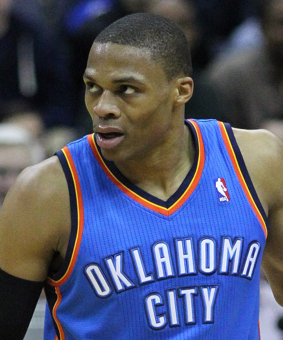Russell Westbrook (cropped)