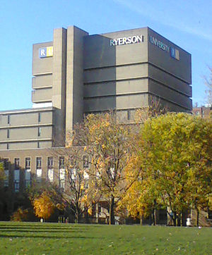 The Ryerson University Library in Toronto, Ont...
