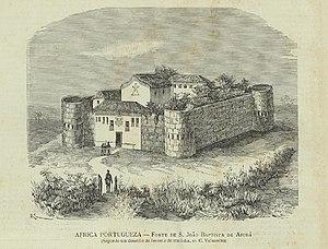Ouidah - The fort of São João Baptista de Ajudá, late 19th century