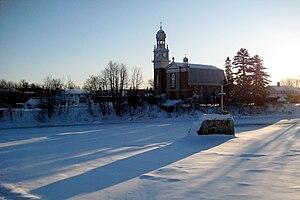 Sainte-Catherine-de-la-Jacques-Cartier - Image: SCJC 2008 12 13