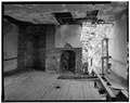 SECOND FLOOR, HALL CHAMBER, NORTH WALL - Genesar, State Route 611, Berlin, Worcester County, MD HABS MD,24-BERL.V,2-22.tif