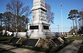 SE face - federal Confederate Cemetery Memorial - Point Lookout Maryland - 2012-01-15.jpg