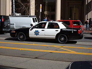 San Francisco Police Department - Modern SFPD Ford Crown Victoria Police Interceptor