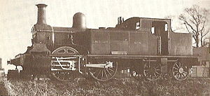 Midland and South Western Junction Railway - Image: SM&AR Single Fairlie 1878