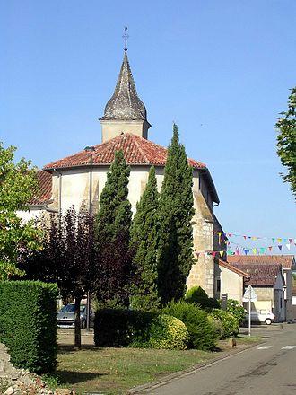 Saint-Maurice-sur-Adour - Image: SMSA église 3