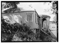 SOUTHEAST SIDE AND NORTHEAST FRONT - 67 East Street (House), Christiansted, St. Croix, VI HABS VI,1-CHRIS,12-1.tif