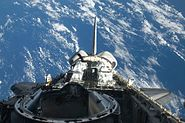 STS129 FD02 Atlantis cargo bay1