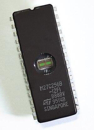 EPROM - Image: ST Microelectronics M27C256B (2006)