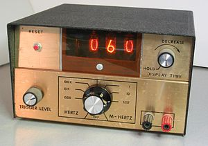 SWTPC - Image: SWTPC Frequency Counter