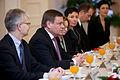 Saeimu oficiālā vizītē apmeklē jaunievēlētais Lietuvas Seima priekšsēdētājs (8266742534).jpg