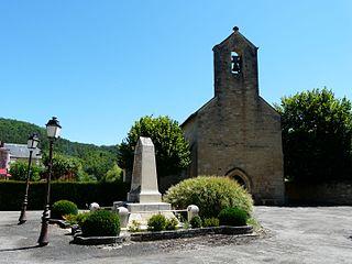 Saint-Cybranet Commune in Nouvelle-Aquitaine, France