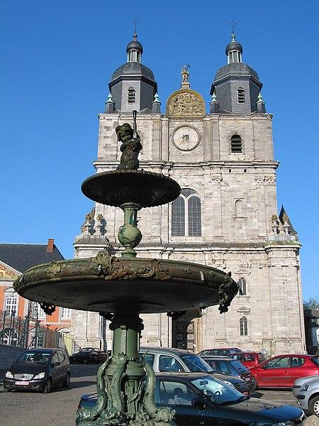Saint-Hubert, Belgium, the Saint Peter basilica (16/18th centuries).
