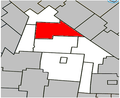 Saint-Théodore-d'Acton Quebec location diagram.PNG