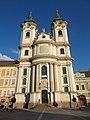 Saint Anthony of Padua church in Eger, 2016 Hungary.jpg