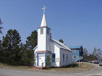 Saint John the Baptist Catholic Church, Carcross, Yukon 2.jpg