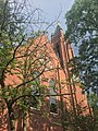 Saint Mary of the Assumption Church, Rectory, School and Convent obscured by foliage.jpg