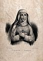 Saint Matilda. Lithograph. Wellcome V0032626.jpg