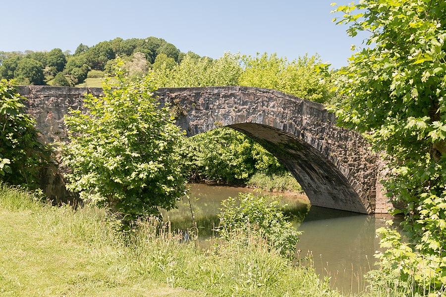 Bridge of Ibarron at Saint Pée sur Nivelle, taked by the  Way of Baztan