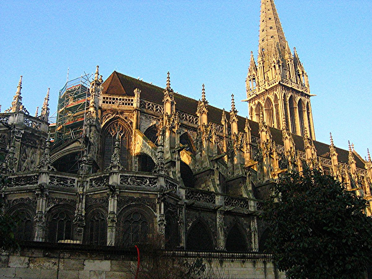 church of saint pierre caen wikipedia. Black Bedroom Furniture Sets. Home Design Ideas