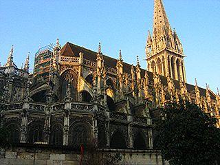 Church of Saint-Pierre, Caen Roman Catholic church in Caen, France