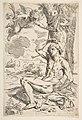 Saint Sebastian pierced with arrows and tied to a tree MET DP815116.jpg
