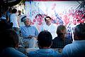 Salomon Jara y Andres Manuel Lopez Obrador en San Baltazar Chichicapam 02.jpg